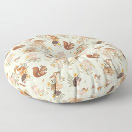 Meadow Friends Floor Pillow