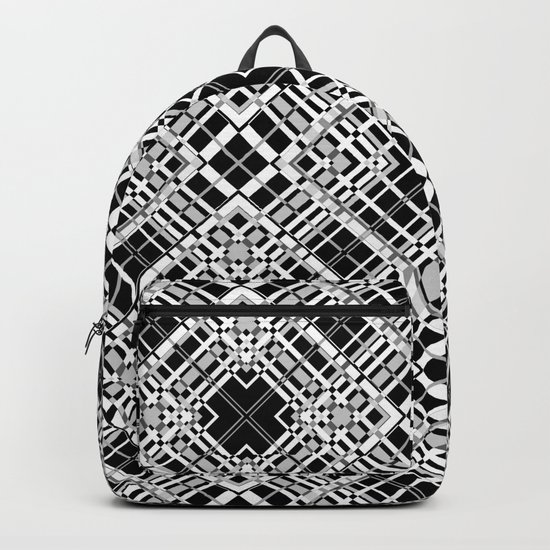 Geometric pattern. Elsa .1 Backpack