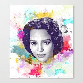 Dorothy Dandridge II Canvas Print