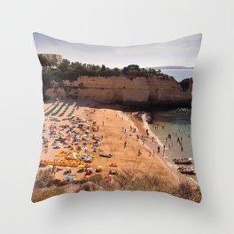 Nossa Senhora da Rocha Algarve Portugal Throw Pillow