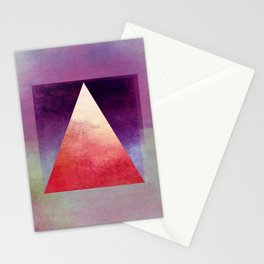 Triangle Composition XI Stationery Cards