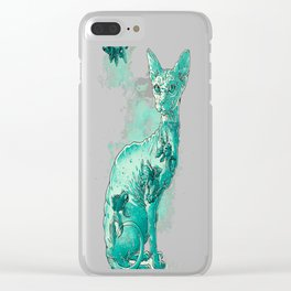 Conformity II Clear iPhone Case