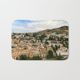 Granada from Above Bath Mat