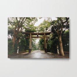 Meiji Torri Metal Print