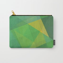 Polygon print bright colors #society6 #decor #buyart #artprint Carry-All Pouch