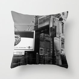 Brussels Surrealism Throw Pillow