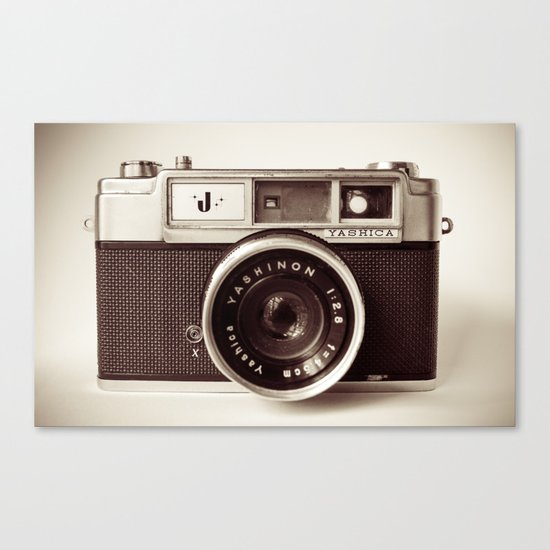 Camera Canvas Print