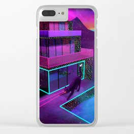 Hollywood Dreaming Clear iPhone Case