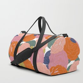Flowers In Full Bloom Duffle Bag