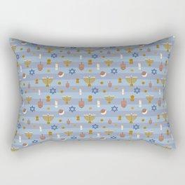 Kawaii Hanukkah Rectangular Pillow