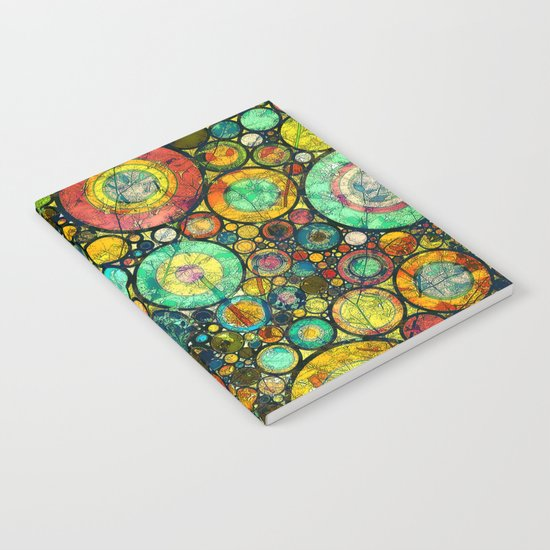Ring Pattern 3 Notebook