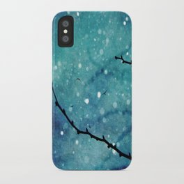 Winter Snow Branches  iPhone Case