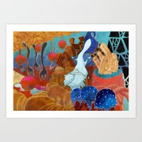 What I'm made up of Art Print