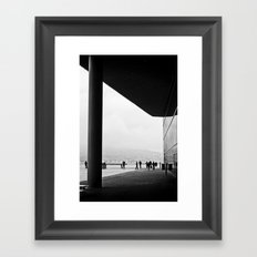 Monochrome Framed Art Print
