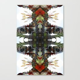OR/WELL: Robotman VS Bird V2 Canvas Print