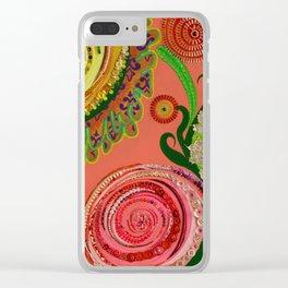 Ranunculi Waltz Clear iPhone Case