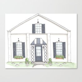 Magnolia Bakery Illustration Canvas Print