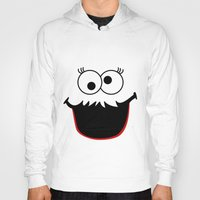 elmo Hoodies featuring Gimme Those Cookies Girl! by Alli Vanes