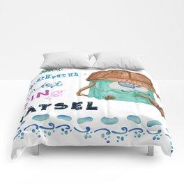 Das Leben ist ein Rätsel, Detektiv-Tasche Comforters