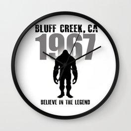 Believe in the Legend of 67 Wall Clock