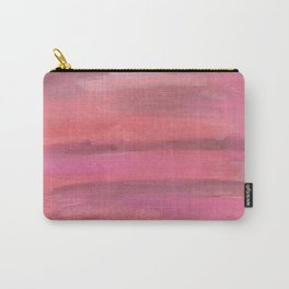 Pink Horizons Abstract Carry-All Pouch