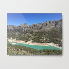 Guadalest, Spain Metal Print