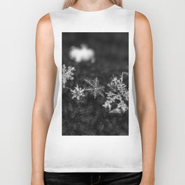 Clump of snowflakes Biker Tank