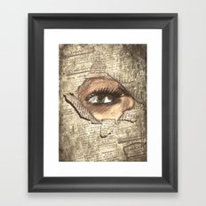 Look 3 Framed Art Print