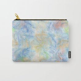 Tangled Blue Fireworks Carry-All Pouch