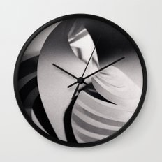Paper Sculpture #6 Wall Clock