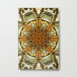 Animal Print Abstract Metal Print