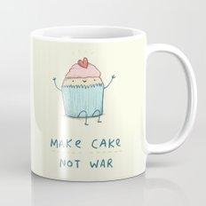 Make Cake Not War Mug