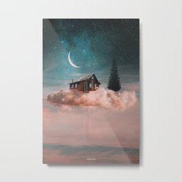 Dreamer on clouds Metal Print