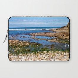 Sat On a Shoreline Laptop Sleeve