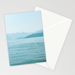 Blue scenery Stationery Cards