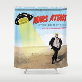 Immigrants stories Shower Curtain