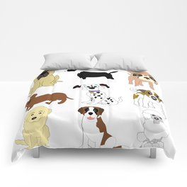 Pet dogs design Comforters
