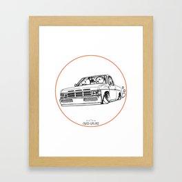 Crazy Car Art 0207 Framed Art Print