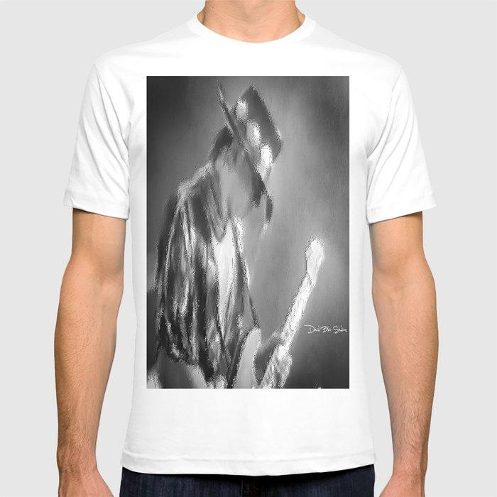 Stevie Ray Vaughan Graphic Women/'s T-shirt Black