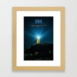 Ocracoke Island - North Carolina - Outer Banks.  Framed Art Print