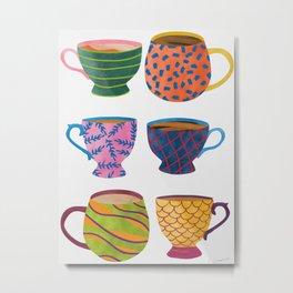 Comfort In A Cup Metal Print