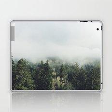 Foggy Treetops Laptop & iPad Skin