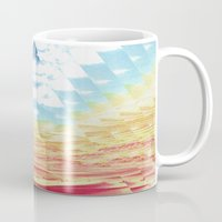 oasis Mugs featuring Oasis by Tony Gaglio