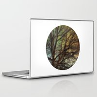 psychadelic Laptop & iPad Skins featuring Psychadelic Tree by Jeanne Hollington