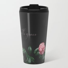 bloom with grace Travel Mug
