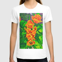 View of Tulips T-shirt