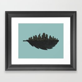 Leaf City Framed Art Print