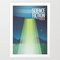 sci fi Art Prints featuring Sci-Fi by Arttt