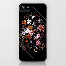 Antique Botanical III iPhone Case