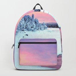 Frozen Riverside Purple Shade Ultra HD Backpack